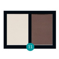 Матовые тени для век Eva cosmetics Satin Touch Палитра №11