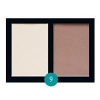 Матовые тени для век Eva cosmetics Satin Touch Палитра №9