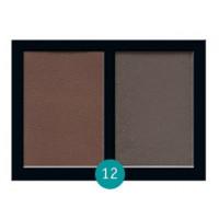 Матовые тени для век Eva cosmetics Satin Touch Палитра №12