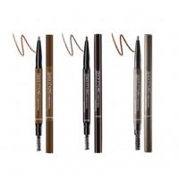 Автоматический карандаш для бровей SeaNtree Quick Styling Eyebrow Pencil 1 Dark Brown (8809476694803)
