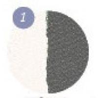Тени для век бархатные Eva cosmetics Delicate Duo Matte Оттенок 1 (7012900110)