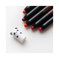 Стойкая помада-карандаш Tony Moly Panda's Dream Glossy Lip Crayon - 05 True Red 1,5 г (8806356560621)