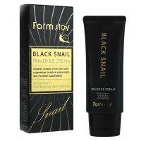 Бб крем с муцином черной улитки Farmstay Black Snail Primer BB Cream SPF50+ PA+++ 50 г (8809339069724)