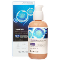 Тональная основа с коллагеном Farmstay Collagen Water Full Moist Luminous Foundation Оттенок 21, 100 мл (8809426957668)