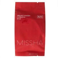 Запаска тонального крема-кушона Missha Velvet Finish Cushion SPF50+/PA+++ (Refill) 15 г (8809581462458)
