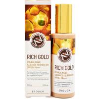 Тональный крем для лица с золотом Enough Rich Gold Double Wear Radiance Foundation SPF50+ Тон 13, 100 мл (8809605871938)