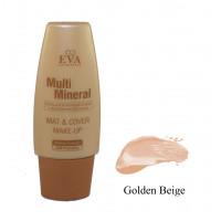 Матирующий тональный крем Eva cosmetics Multi Mineral Тон Golden Beige