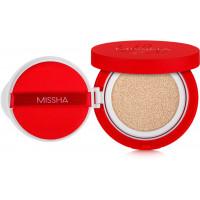 Тональный крем-кушон Missha Velvet Finish Cushion SPF50+ PA+++ 15 г (8809581452558)