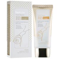 Солнцезащитный бежевый ББ крем для лица с муцином улитки Farmstay Snail Repair BB Cream Spf50+/Pa+++ 50 г (8809426953851)