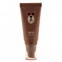 BB крем с идеальным покрытием Missha M Perfect Cover BB Cream SPF42 PA+++ Line Friends Edit №23 Natural Beige (8809581477872)