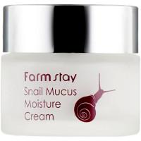 Увлажняющий крем для лица с муцином улитки Farmstay Snail Mucus Moisture Cream 50 г (8809426954537)