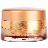 Антивозрастной крем для глаз The Saem Snail Essential Ex Wrinkle Solution Eye Cream 30 мл (8806164126271)