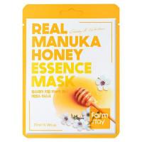 Питательная тканевая маска для лица с медом манука FarmStay Real Manuka Honey Essence Mask 23 мл