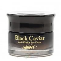 Антивозрастной крем для глаз Holika Holika Black Caviar Antiwrinkle Eye Cream 30 мл (8806334337612)
