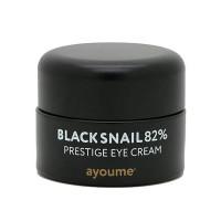 Увлажняющий крем для век с муцином улитки Ayoume Black Snail Prestige Cream 30 мл (8809534252310)