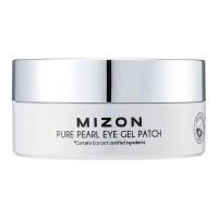 Гидрогелевые патчи под глаза с экстрактом белого жемчуга Mizon Pure Pearl Eye Gel Patch 60 шт (8809579273158)
