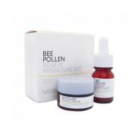 Набор омолаживающей косметики сыворотка+крем Missha Bee Pollen 2 kind set 10+10 мл (8809581456624)