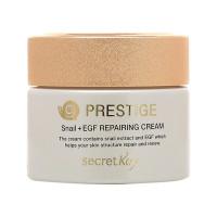 Восстанавливающий крем для лица с экстрактом улиточного муцина Secret Key Prestige Snail Repairing Cream 50 мл (8809305990984)