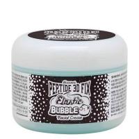 Омолаживающий пузырьковый крем для лица Elizavecca Peptide 3d Fix Elastic Bubble Facial Cream 100 мл (8809624500062)