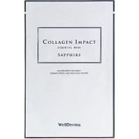 Омолаживающая тканевая маска сморским коллагеномWellDerma Collagen Impact Essential Mask 25 мл