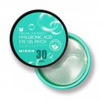 Омолаживающие гидрогелевые патчи для кожи вокруг глаз с гиалуроновой кислотой Mizon Hyaluronic Acid Eye Gel (8809579273134)