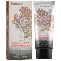 Многофункциональный СС-крем для лица Farmstay Formula All-In One Galactomyces C.C Cream SPF50/PA+++ (8809317285665)