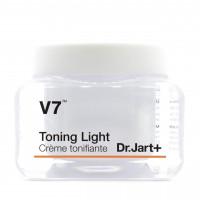 Увлажняющий крем для лица с витаминами Dr.Jart V7 Toning Light Cream 50 мл (8809535807472)