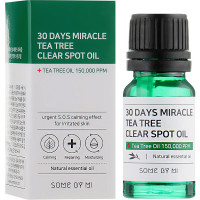 Локальное масло для лечения прыщей Some By Mi 30 Days Miracle Tea Tree Clear Spot Oil 10 мл (8809647390107)