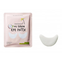 Патчи для кожи вокруг глаз Too Cool For School Coconut Oil Serum Eye Patch 5,5 г (8809402285532)