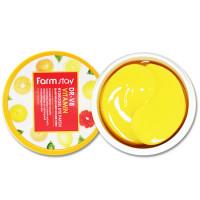 Гидрогелевые патчи под глаза с витаминами FarmStay DR-V8 Vitamin Hydrogel Eye Patch 60 шт (8809460461121)