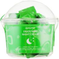 Набор ночных антивозрастных кремов для лица Ayoume Enjoy Mini Night Cream 30 шт по 3 г (8809534252297)
