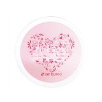 Витаминные патчи для век с экстрактом французской розы 3W Clinic Pink Rose Vitamin Hydrogel Eye Patch 60 шт (8809389033959)
