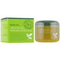 Осветляющий крем для лица с зеленым чаем Farmstay Green Tea Seed Whitening Water Cream 100 г (8809317287065)