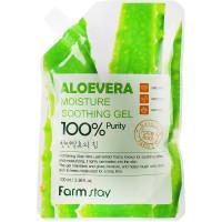 Увлажняющий гель для тела с экстрактом алоэ вера Farmstay Moisture Soothing Gel Aloevera 100 мл (8809426957972)