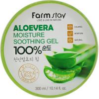 Увлажняющий крем-гель для тела с алоэ Farmstay Moisture Soothing Gel Aloe Vera 300 мл (8809430539171)