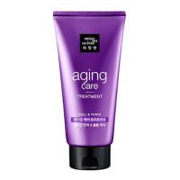 Восстанавливающая маска для волос с пудрой чёрного жемчуга Mise En Scene Aging Care Treatment 330 мл (8801042704329)