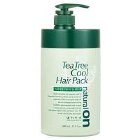 Натуральная освежающая маска на основе чайного дерева Daeng Gi Meo Ri Tea Tree Cool Hair Pack 1000 мл (8807779088787)