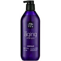 Антивозрастной шампунь для ослабленных и ломких волос Mise en Scene Aging Care Shampoo 680 мл (8801042697263)