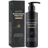 Улиточная маска-бальзам для защиты и укрепления волос Ayoume Black Snail Prestige Treatment 240 мл (8809534251672)