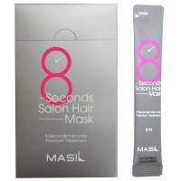 Восстанавливающая маска для поврежденных волос (стик) Masil 8 Seconds Salon Hair Mask Travel Kit 20 шт×8 мл (88094945456991)