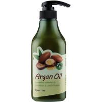 Шампунь-кондиционер с аргановым маслом Farmstay Argan Oil Complete Volume Up Shampoo And Conditioner 530 мл (8809595053659)