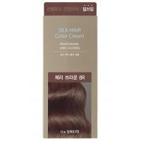 Крем-краска для волос The Saem Silk Hair Color Cream Cherry Brown 60 г (8806164153499)
