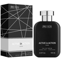 Парфюмерная вода для мужчин Carlo Bossi Active In Action Silver 100 мл (01020203802)