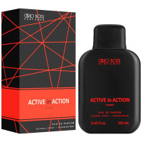 Парфюмерная вода для мужчин Carlo Bossi Active In Action Red 100 мл (01020203702)