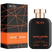 Парфюмерная вода для мужчин Carlo Bossi Active In Action Orange 100 мл (01020203902)