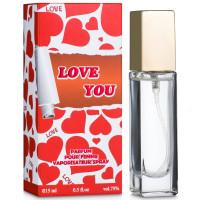 Парфюмерная вода для женщин Galterra Love You 15 мл (09151000111)
