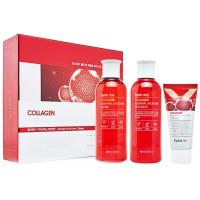 Увлажняющий набор для лица на основе коллагена Farmstay Collagen Essential Moisture Skin Care 3 Set (8809426959464)
