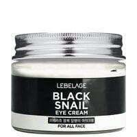 Улиточный восстанавливающий крем для кожи вокруг глаз Lebelage Black Snail Eye Cream 70 мл (8809317111179)