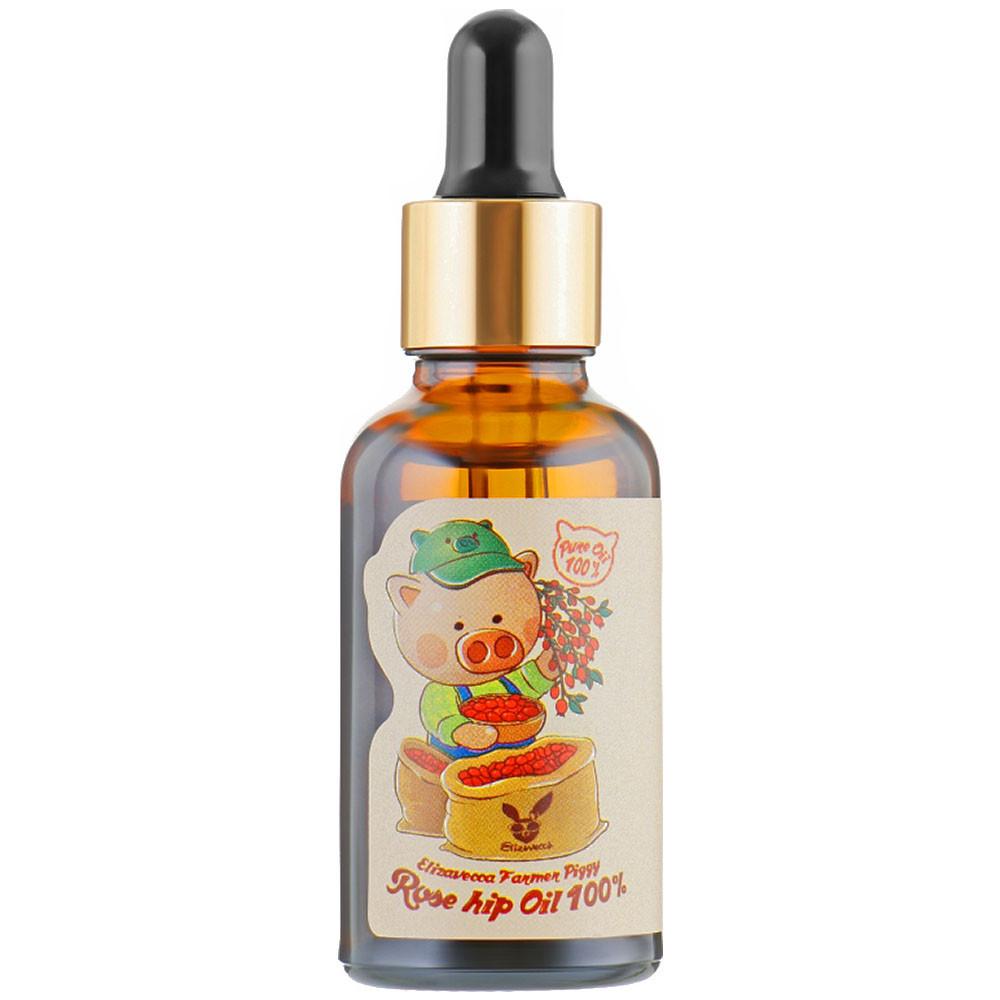 Масло шиповника Elizavecca Farmer Piggy Rose Hip Oil 100% 30 мл (3618)