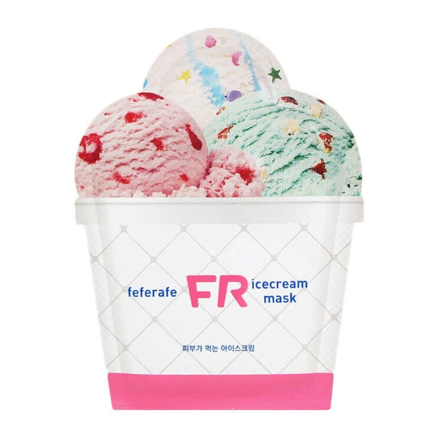 Маска для лица мороженое Feferafe FR Ice Cream Mask 25 мл (8809474498199)